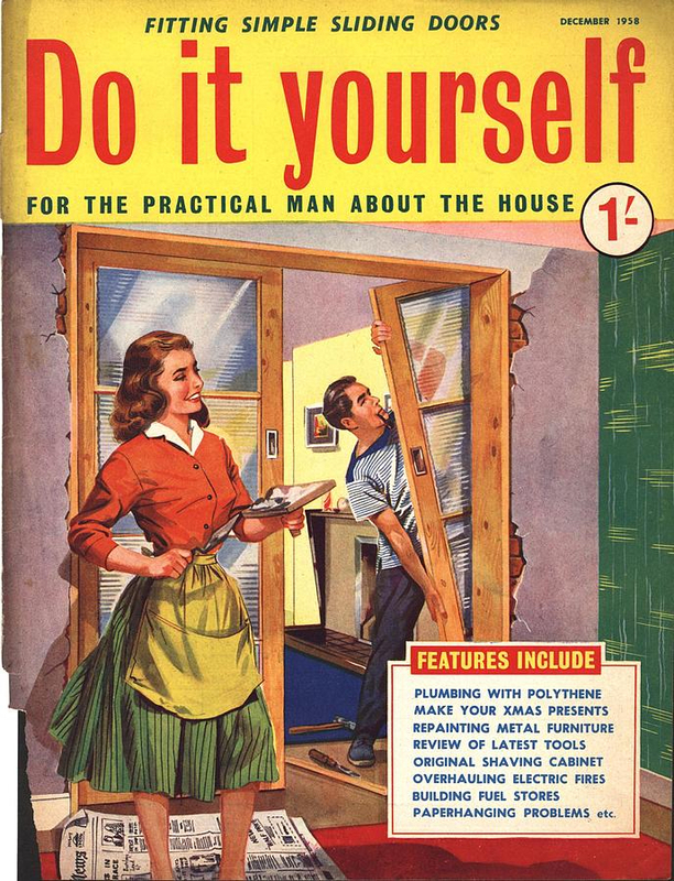 1950s Uk Home Decorating Magazine